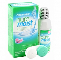 Раствор для линз OPTIFREE PURE MOIST, 120мл