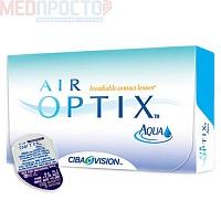 Контактная линза AIR OPTIX AQUA R8,6